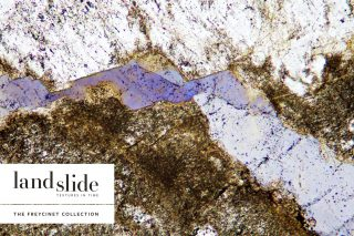 Landslide. Cover for the Freycinet Collection catalogue.